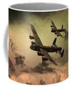 Lancaster Fire In The Sky Coffee Mug