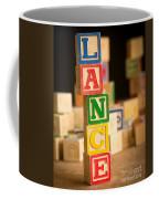 Lance - Alphabet Blocks Coffee Mug