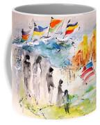Land Of Plenty Coffee Mug by Mary Spyridon Thompson