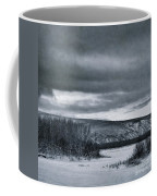 Land Shapes 14 Coffee Mug by Priska Wettstein