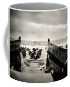 Landing At Normandy On D-day Coffee Mug