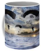 Landing At Sunset Coffee Mug
