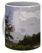 Landing Beyond The Trees Coffee Mug