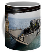 Landing Craft Utility Departs The Well Coffee Mug