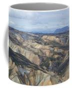 Landmannalaugar Iceland Panorama 2 Coffee Mug