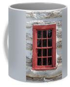 Landow Cabin Window Coffee Mug