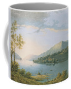 Landscape Along The Rhine Coffee Mug
