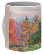 Landscape At Hancock In New Hampshire Coffee Mug