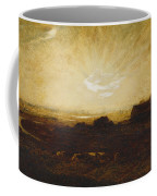 Landscape At Sunset Coffee Mug by Marie Auguste Emile Rene Menard