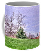 Landscape- Caboose - Little Red Caboose Coffee Mug