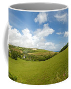 Landscape Near Hallsands In Devon Gb Coffee Mug