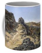 Landscape Near The Monastery Piedra Coffee Mug