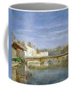 Landscape Oil On Canvas Coffee Mug
