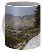 Landscape Outside The Entrance To The Eilean Doonan Castle In Sc Coffee Mug