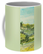 Landscape Pen & Ink With Wc On Paper Coffee Mug