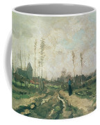 Landscape With A Church And Houses Coffee Mug