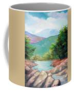 Landscape With A Creek Coffee Mug
