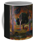 Landscape With A Pig And Horse Coffee Mug