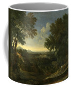 Landscape With Abraham And Isaac Coffee Mug