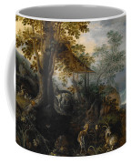 Landscape With Animals Coffee Mug