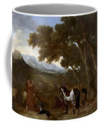 Landscape With Hermit Preaching To Animals Coffee Mug