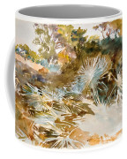 Landscape With Palmettos Coffee Mug
