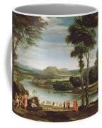 Landscape With St. John Baptising Coffee Mug