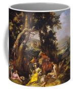 Landscape With The Ministry Of John The Baptist Coffee Mug