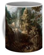 Landscape With The Temptation Of Saint Anthony Coffee Mug