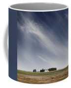 Landscape With White Country Church Coffee Mug