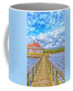 Landskrona Sea Shore Painting Coffee Mug