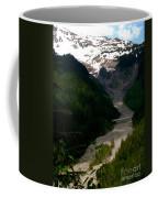 Landslides At Mount Rainier Coffee Mug