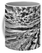Langland Bay Mono Coffee Mug