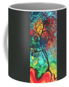 Languishing In The Breeze Original Art Madart Coffee Mug