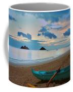 Lanikai Beach Sunrise 6 - Kailua Oahu Hawaii Coffee Mug