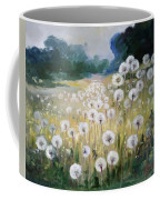 Lanscape With Blow-balls Coffee Mug