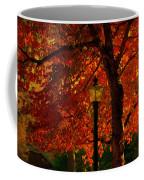Lantern In Autumn Coffee Mug