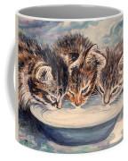 Lap Of Luxury Kittens Coffee Mug