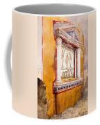 Lararium Of Family Altar, Seen In Situ Coffee Mug