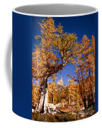 Larch Trees Frame Prusik Peak Coffee Mug