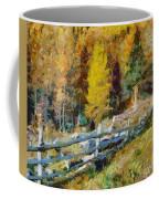 Larches In Autumn Coffee Mug
