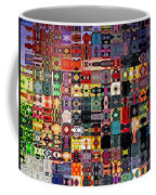 Larg Blocks Digital - Various Colors I Coffee Mug