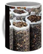 Large Sacks With Dried Mushrooms Coffee Mug