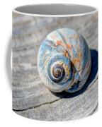 Large Snail Shell Coffee Mug