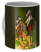 Large Tiger Butterflies Coffee Mug