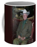 Larry Hagman Coffee Mug by Nina Prommer