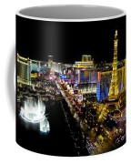 City - Las Vegas Nightlife Coffee Mug