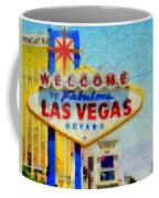 Las Vegas Sign Coffee Mug