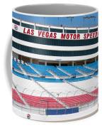 Las Vegas Speedway Grandstands Coffee Mug