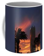 Las Vegas Sunset With Trump Tower Coffee Mug